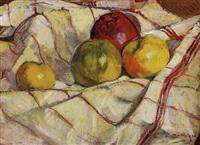 stilleben mit äpfeln by rodolphe bolliger