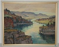 le doubs by hermann sandoz