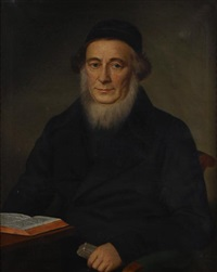 a portrait of a scholar by b. fischer