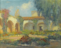 mission arches, san juan capistrano by arthur hill gilbert