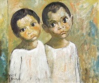 two boys by pascal de souza