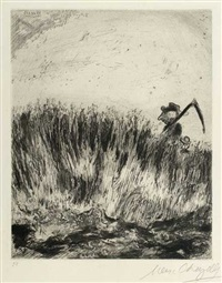 im kornfeld by marc chagall