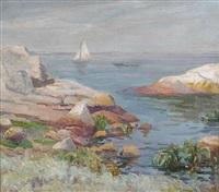 massachusetts coastline by bernhard gutmann