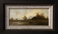 landscape by fyodor alexandrovich vasil'yev