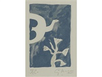 untitled (from le tir à l'arc) by georges braque