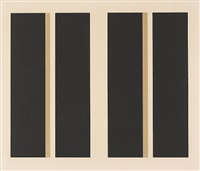 untitled (vertical lines) by john mclaughlin