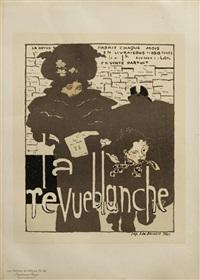 affiche la revue blanche, pl. 38 by pierre bonnard