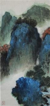 landscape by xie zhiliu