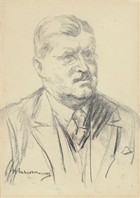 portrait otto meissner by max liebermann