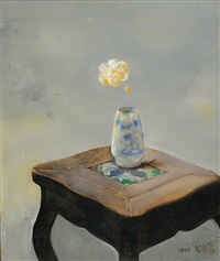 瓶花 (bottle of flowers) by luo fahui