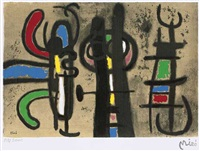 ohne titel (2 works) by joan miró