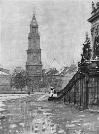 die potsdamer garnisonkirche - tauwetter by hans klohss