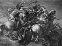 die reiterschlacht (die schlacht von cascina) by gérard edelinck