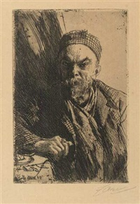portrait paul verlaine (ii) by anders zorn