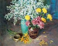 花卉 by liu guoshu