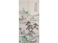 landscape by huang shanshou