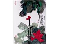 the masterworks of chang dai-chien (6 works) by zhang daqian