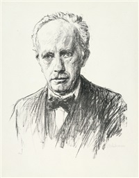 bildnis richard strauss by max liebermann