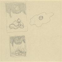 ohne titel (dessin double face) by rené magritte