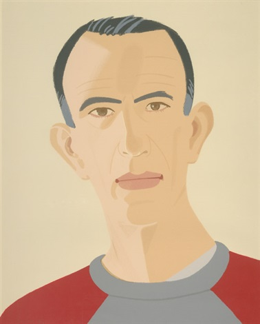 sweatshirt ii self portrait by alex katz