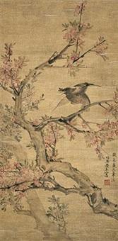 花鸟图 by liang ji