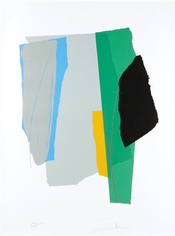 green card sound; untitled (composition) by larry zox