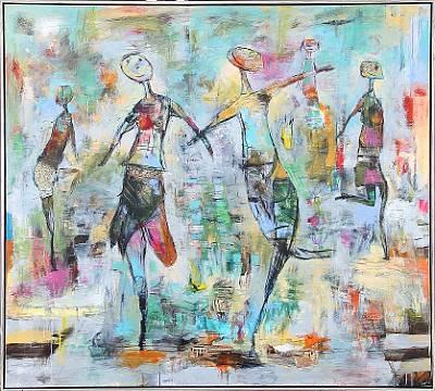 dansende piger by lise aarup