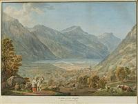 altdorf et ses environs, dans le canton d'ury by gabriel ludwig lory