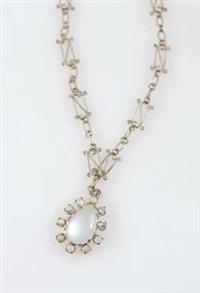 moonstone pendant by chrystabel aitken
