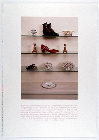 red shoe by sophie calle