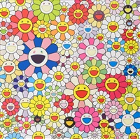 such cute flowers by takashi murakami