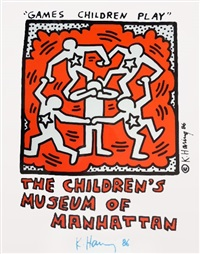 games children play by keith haring