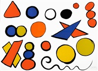 alphabet and serpent by alexander calder