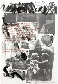 1977 presidential inauguration (from inaugural impressions) by robert rauschenberg