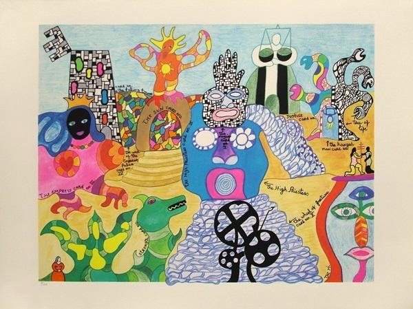 Tarot Garden Von Niki De Saint Phalle Auf Artnet