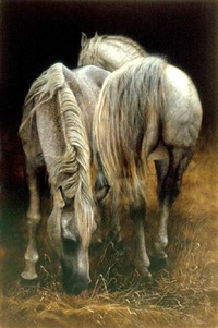 two horses by mari kloeppel