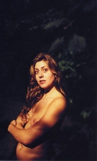 lily, woods by ryan mcginley