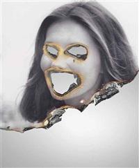 self-portrait of you + me (lois chiles) by douglas gordon