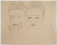 whisper drawing #1 by kiki smith