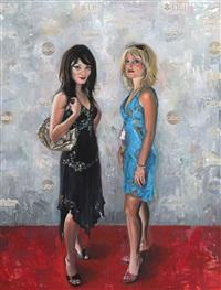 double self-portrait by delia brown