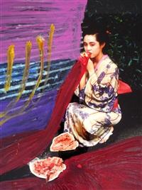 untitled from colourscapes by nobuyoshi araki