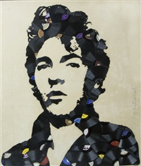 bruce springsteen by mr. brainwash