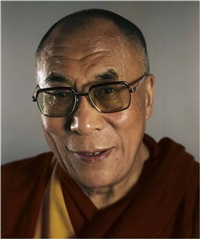 the dalai lama by chuck close