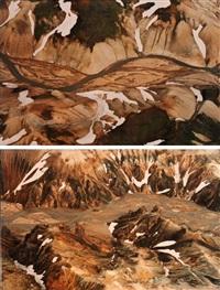 jokulsgilskvisl (2 works) by olafur eliasson