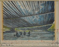 over the river (arkansas) by christo and jeanne-claude