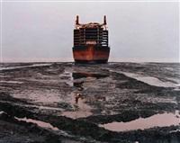 shipbreaking #28 by edward burtynsky