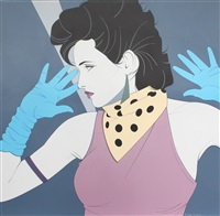 untitled (#294) by patrick nagel