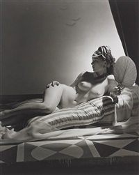 odalisque i, new york by horst p. horst