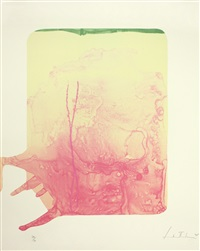 reflections xii (from reflections series) by helen frankenthaler