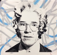andy warhol as marilyn by mr. brainwash
